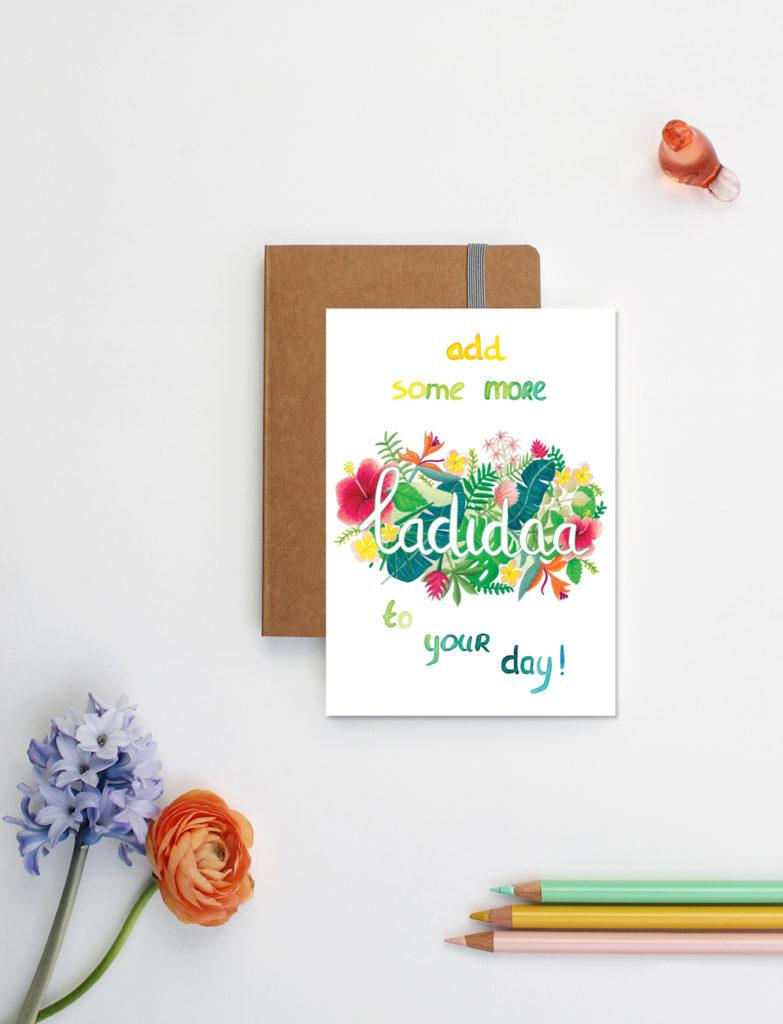 add some ladidaa kaart